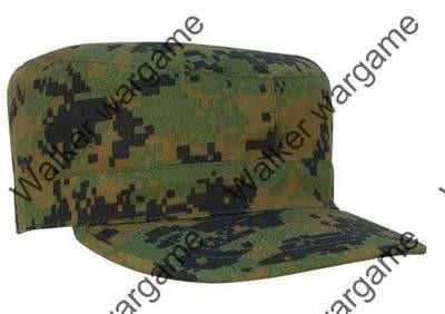 Combat Cap Hat - Digital Woodland Marpat