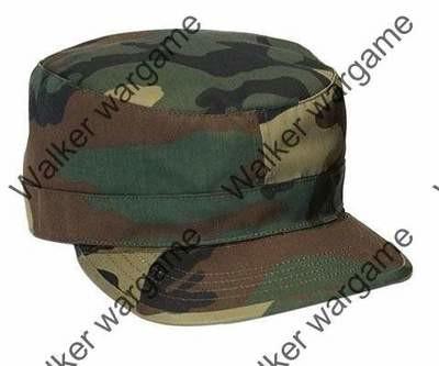 Combat Cap Hat - US Army Woodland Camo
