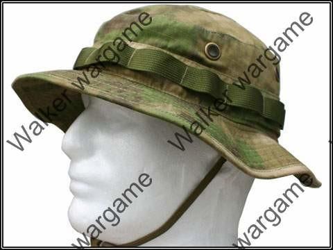 Digital Camo A-TACS Woodland FG Boonie Hat