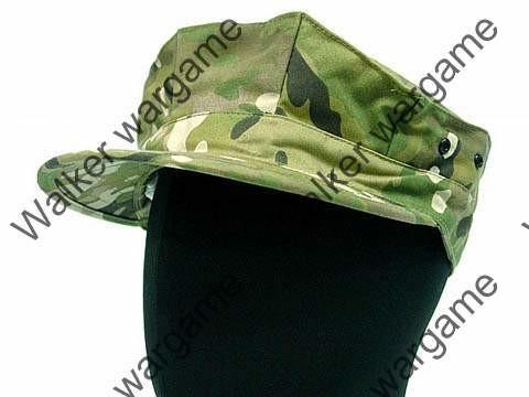 Garrison Style Patrol Cap - Multi Camo