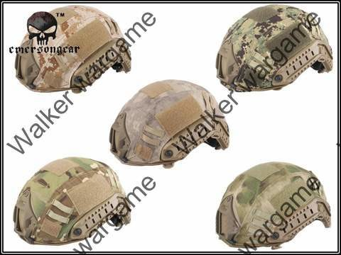 Fast Jump Helmet Camo Cover - US Marine Digital Desert
