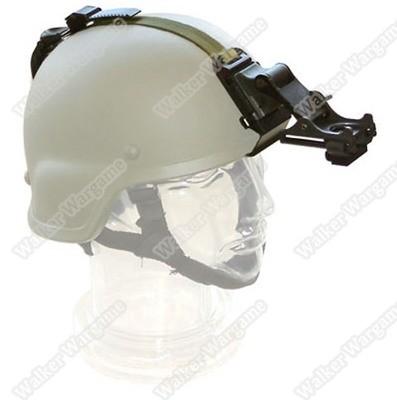 US Army MICH Helmet Flip-up Helmet Mount With Straps Full Set