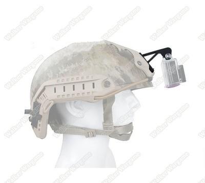 Gen2 Go Pro Camera NVG Helmet Mount for Gopro hero4 Accessories hero3+ hero3 gopro NVG mount Base With screws