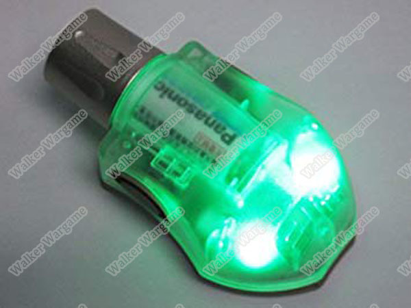 FMA Helmet Tactical Manta Strobe Light Green LED/IR (Helmet Light)