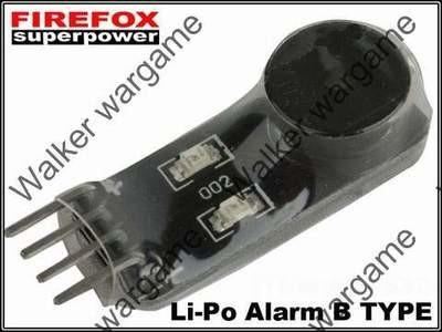 Firefox Lipo Alarm Battery Protector