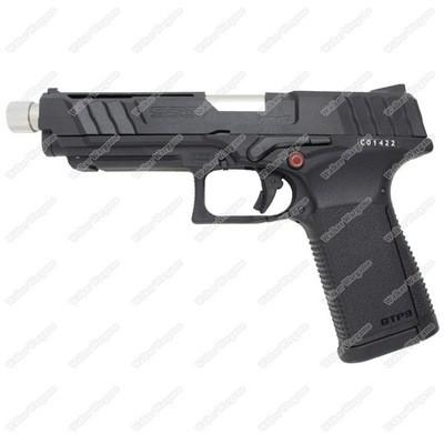 G&G GTP9 GBB Green Gas Blow Back Airsoft Pistol - Black
