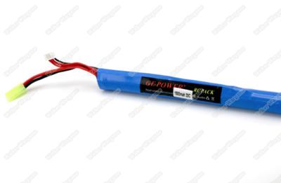 GE Power Lipo battery 11.1V 1500MAH 20C RC Airsoft Gun Battery Long Type (Deans And Tamiya Connect)