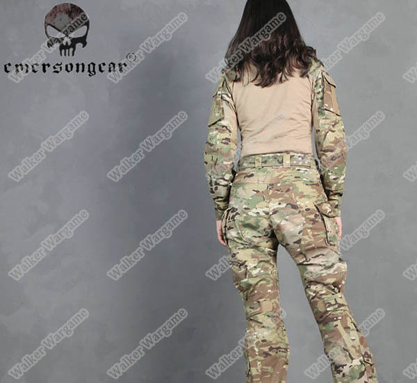 Emerson G3 Woman Combat Set Uniform Multicam Lady Design