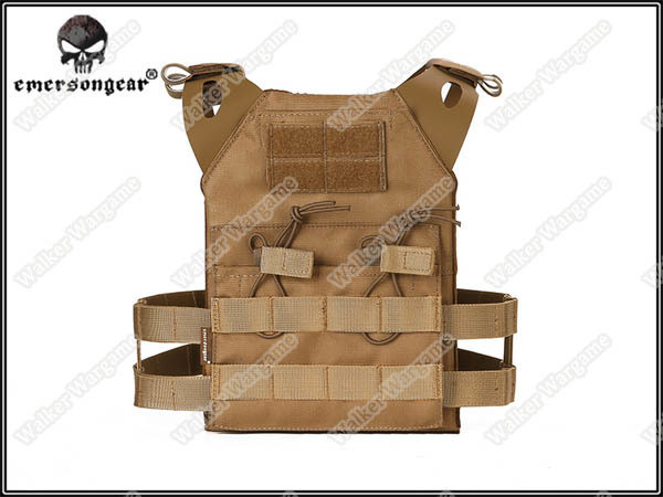 Emerson JPC Tactical Vest for Kids Chest Rig - Tan