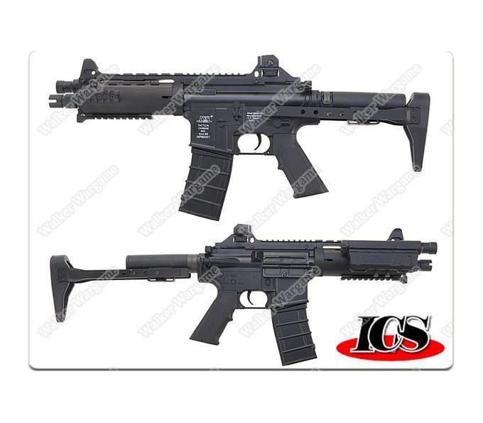ICS CXP08 IMT060 Concept Rifle Full Metal Version AEG - Black ICS-60