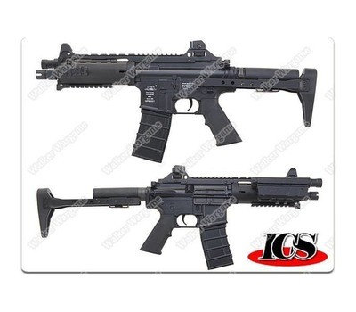 ICS CXP08 IMT060 Concept Rifle Full Metal Version AEG - Black ICS-60