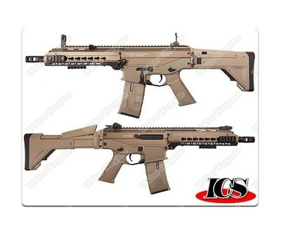 ICS CXP APE IMT-230-1 Full Metal Electric Blow Back AEG- Tan