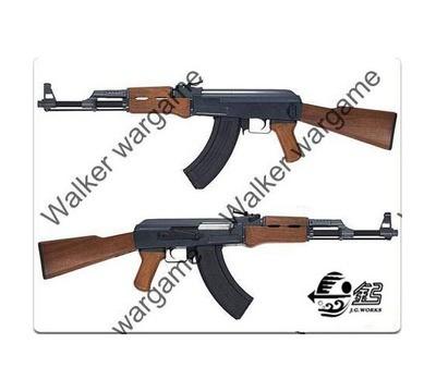 JG AK47 Metal Gear Box & Body - Wood Color Classic AK47 Airsoft Electric Gun