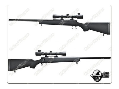 Jing Gong VSR-10 With Scope ( BAR-10 ) M24 Airsoft Bolt Action Sniper Rifle