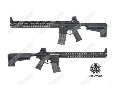 Krytac War Sport Licensed LVOA-C M4 Carbine Airsoft AEG Rifle - Black
