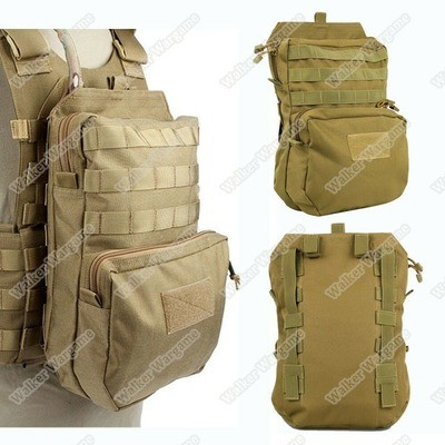 Tactical Molle Big Back Bag Hydration Water Reservoir Backpack Bag