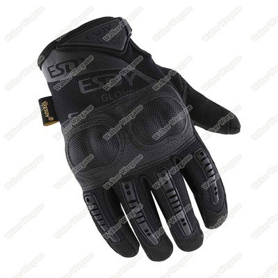 ESDY OPact Tactical Full Finger Gloves - SWAT Black