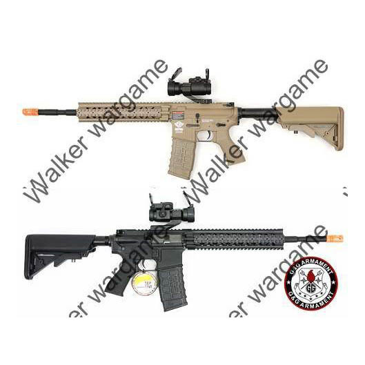 G&G Combat Machine CM16 R8-L AEG  (Free Red Dot Scope!)