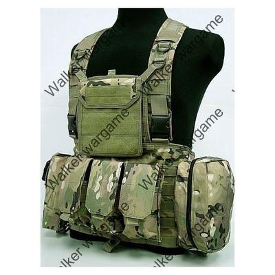 LBV Load Bearing Molle Vest - Multi Camo
