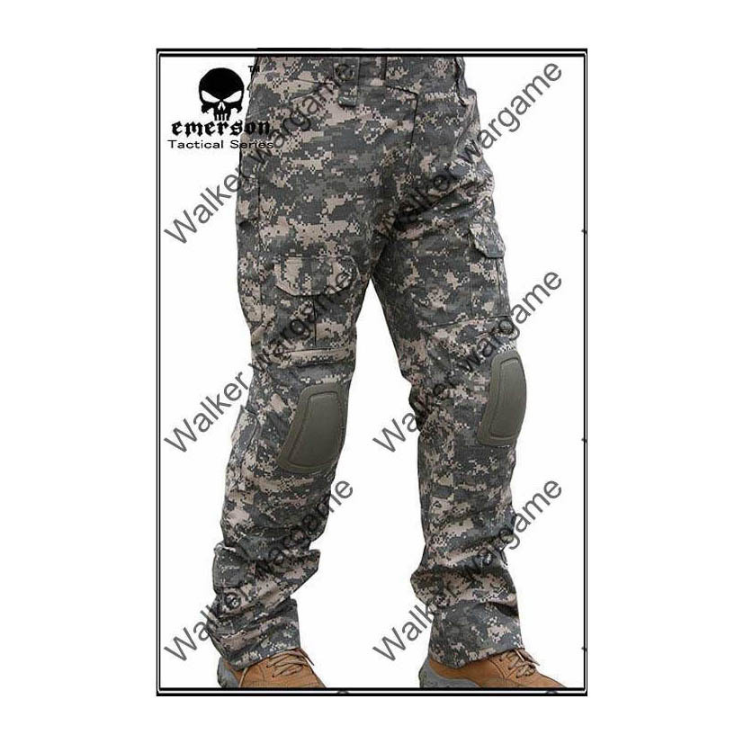 Combat Pants Build In Knee Pads - ACU