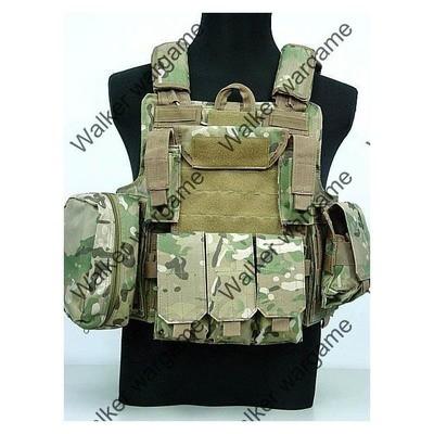 US Force Recon Marine MOD MOLLE Vest - Multi Camo