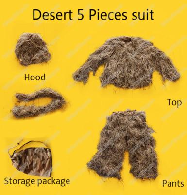 Sniper Ghillie Suit 3Piece Set - Desert