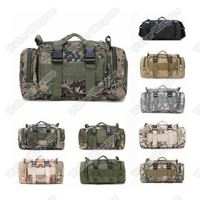 Specific Molle Universal Back Gear Bag Pouch - Multi Color