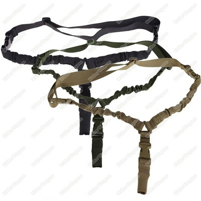 US Tactical 1 Point Sling Gen 2, Single Point Sling With Quick Release Clip - (Multi-Color)