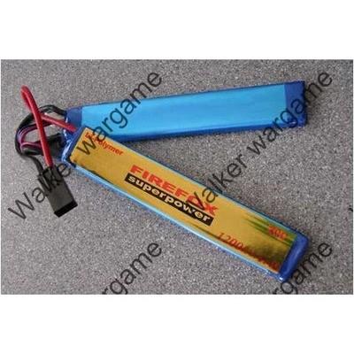 2P FireFox 7.4V 1200mah 20C LiPo Battery