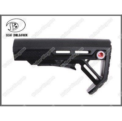 Big Dragon Viper Mod1 Tactical Adjustable Butt Stock for M4/M16 Series Airsoft AEGs - Black