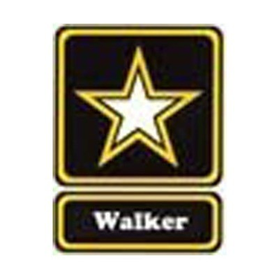 WG090 Walker Wargame Airsoft Shop Patch With Velcro - Full Color
