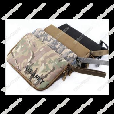 Pistol Carry Case Gun Bag Pouch - OD , Black , Tan