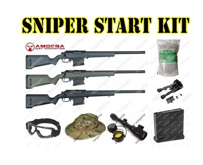 Airsoft Sniper Starter Package - Now R5200.00 Save R1050.00