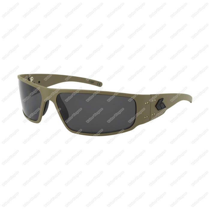 Gatorz Magnum Navy SEAL CERAKOTE Sun Glass  Military Tan Frame / Smoked Polarized Lens