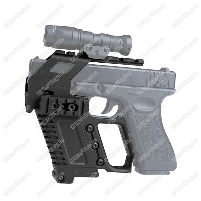 Tactical Pistol Carbine Kit For Glock Airsoft Mount For Glock17 18 19
