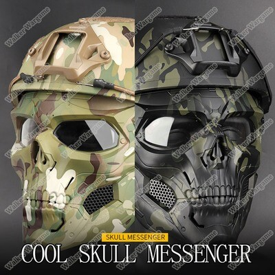 Skull Messenger Full Face Mask