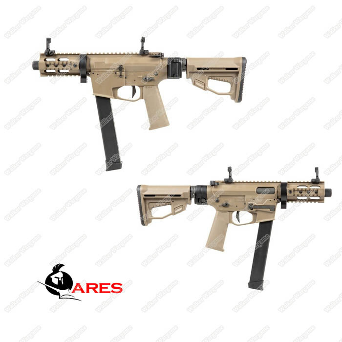 Ares M45 X Class Long - Airsoft AEG With 2 mag and EFCS Tan