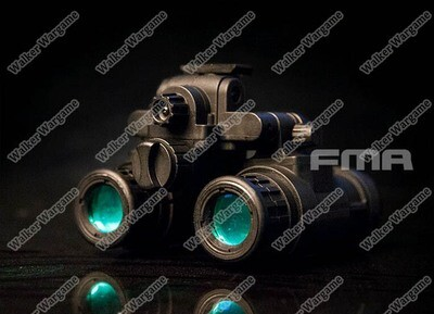 FMA AN-PVS-31 Dummy Night Vision With Light Function Black
