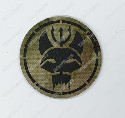 LWG005 Navy SEAL Bravo Team - Laser Cut Patch With Velcro