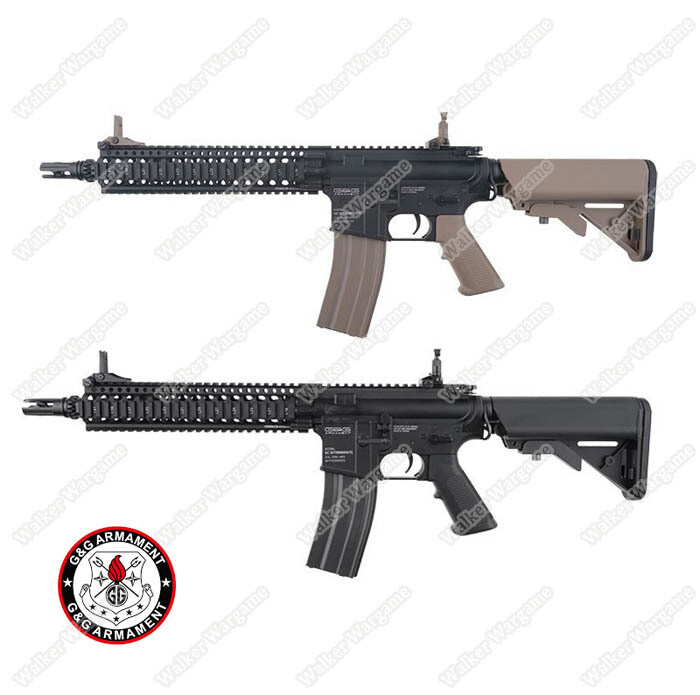 G&G MK18 GC18 Mod1 Full Metal Airsoft AEG Rifle With ETU