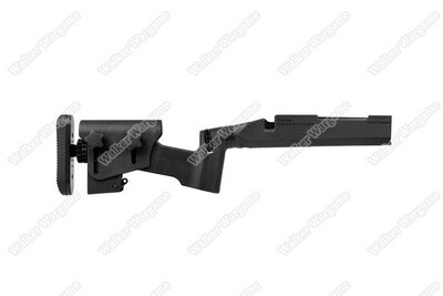 ARES Amoeba - STRIKER Series Multi-Adjust Tactical Stock  - BLACK