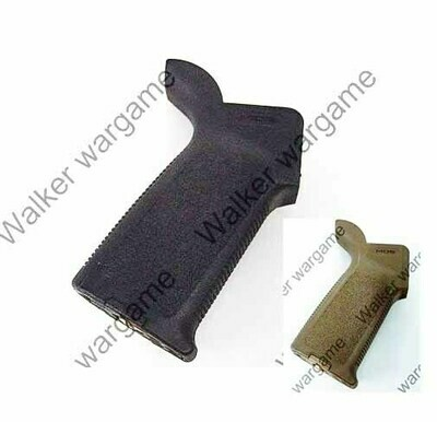 MP PTS MOE Pistol Back Grip for M4/M16 AEG - Tan Black