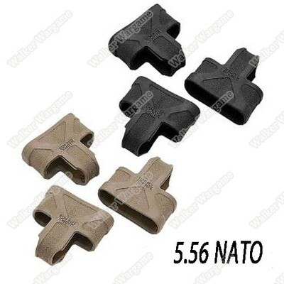 M4 R5 5.56 Rifle Magazine Quick Pull - Black Tan Color