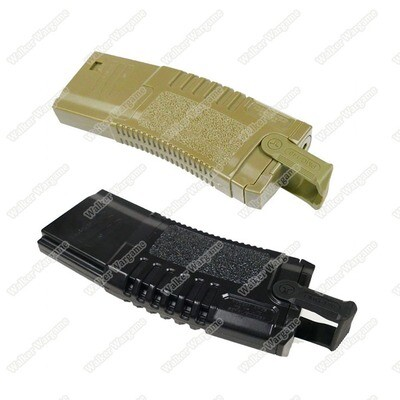 ARES Amoeba S class 140rds M4 / Mid-Cap Airsoft AEG Rifle Magazine With Puller - Black & Tan