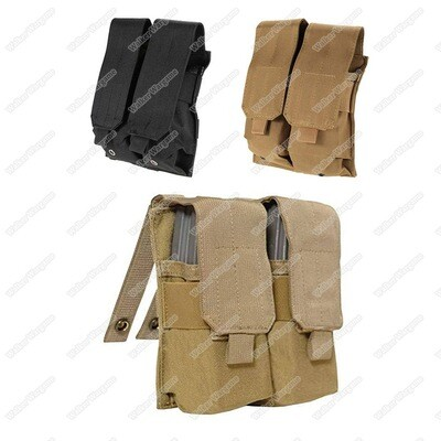 Tactical Double M4 5.56 Molle Magazine Pouch