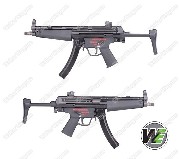 WE Tech MP5 J A3 GBB Apache Submachine Gun Green Gas Blow Back