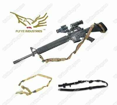 Flyye Three Point Sling 3-Point Rifle Sling (Multi-Color)
