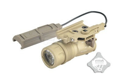 FMA Upgraded Version Of The M720V Weapon Lights With Control Panel Tan