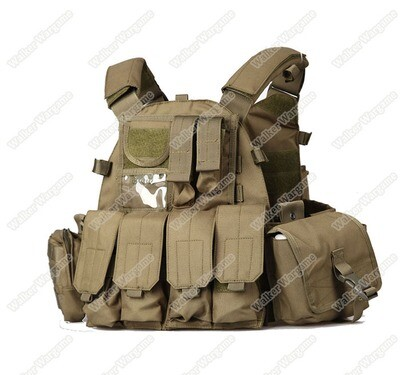 US Navy Seals 6094 VT089 Tactical Molle LBT Vest - OD Green