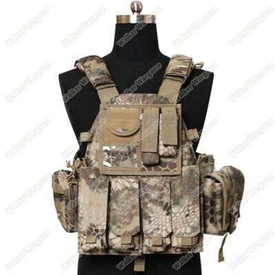 US Navy Seals 6094 VT089 Tactical Molle LBT Vest - HLD High Lander Camo